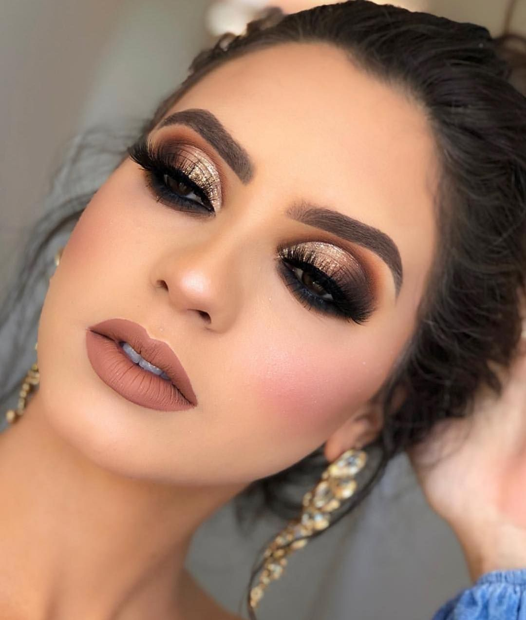 37 Beautiful Neutral Makeup Ideas for the Prom Party #makeupprom