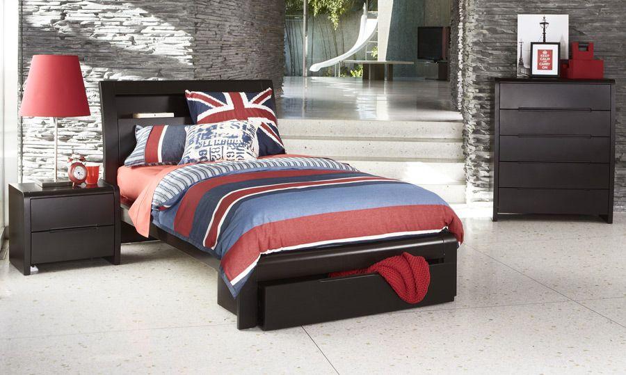 Benton+Chocolate+King+Single+Bed | Dreaming | Pinterest