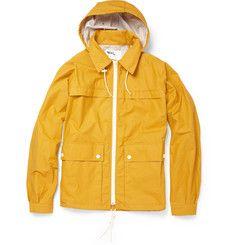 MHL Waxed Cotton-Blend Packaway Jacket