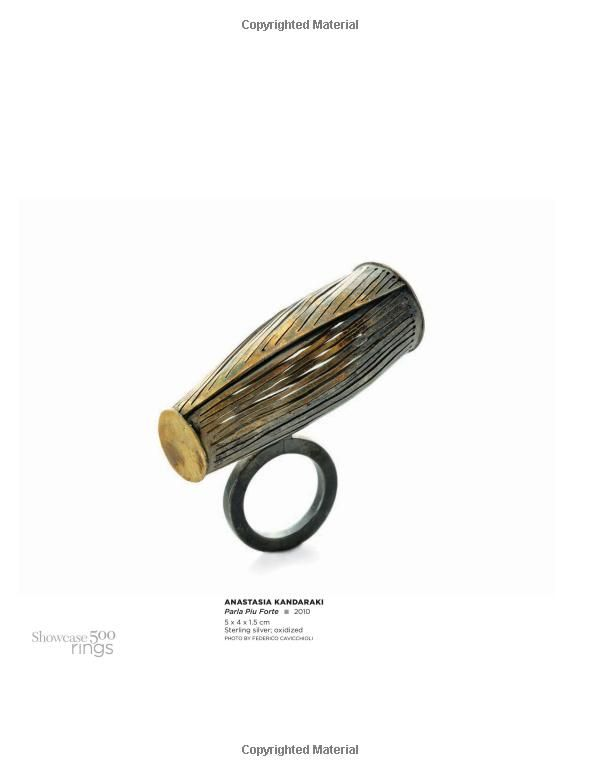 showcase 500 rings new directions in art jewelry 500 series