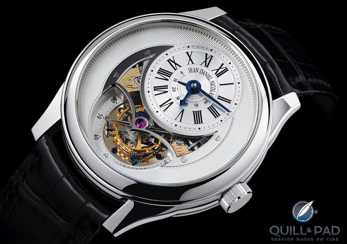 Platinum Jean Daniel Nicolas Two-Minute Tourbillon by Mr. Daniel Roth  (photo courtesy Guy Lucas de Peslouan) 2bf0b44e6d5