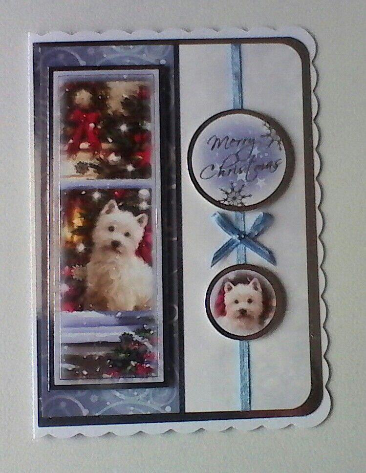 Hunkydory Christmas card. | Kanban cards, Xmas cards ...