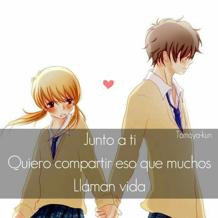 Un Solo Sentimiento Amor Pinterest Anime And Frases