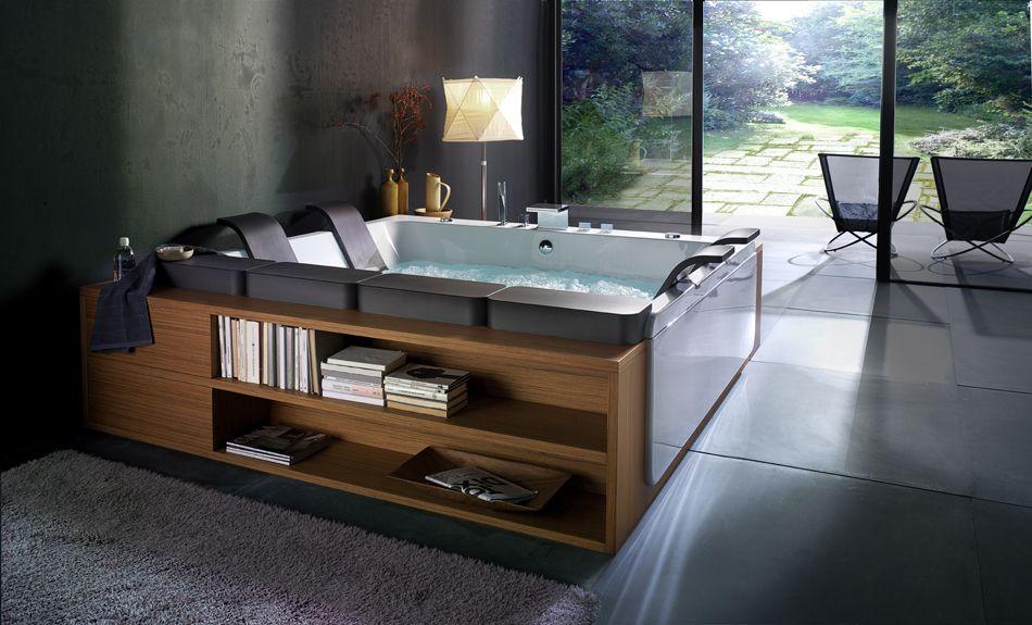 Beautiful Bathtubs by BluBleu   Pinterest   Bathtubs, Tubs and Hot tubs