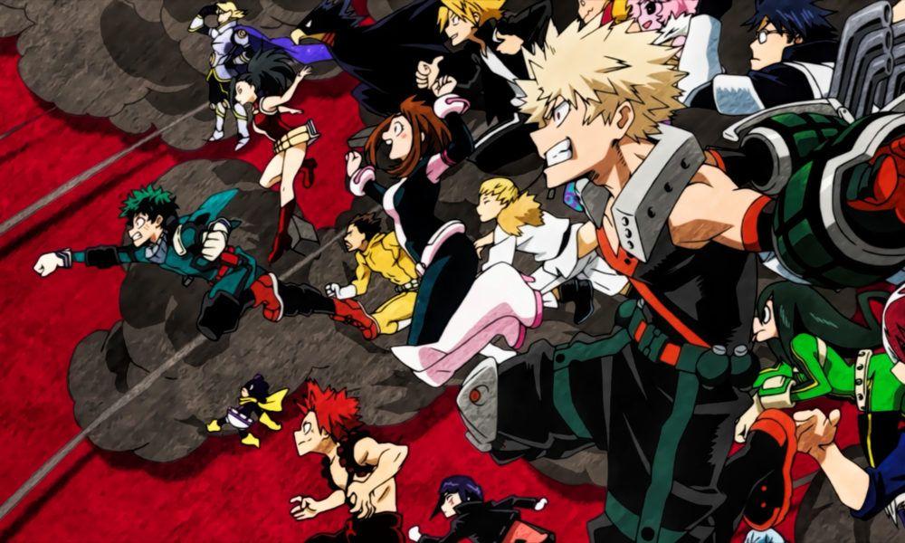Plus Ultra Ranking Class 1 A Of My Hero Academia Hero Wallpaper My Hero Academia Anime Characters