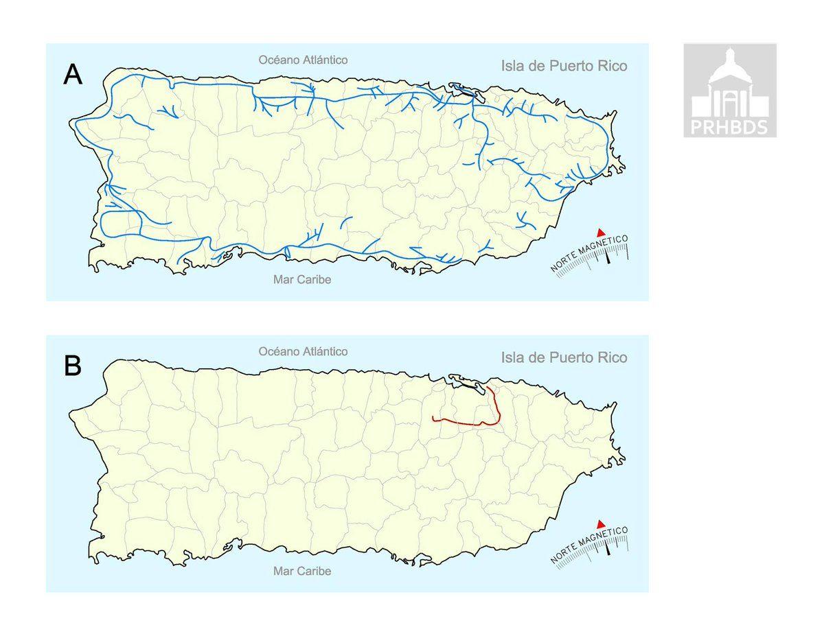 Mapa Trenes Puerto Rico Buscar Con Google Map