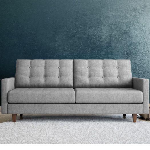 Aeon Furniture Euro Home Sandy Tufted Settee