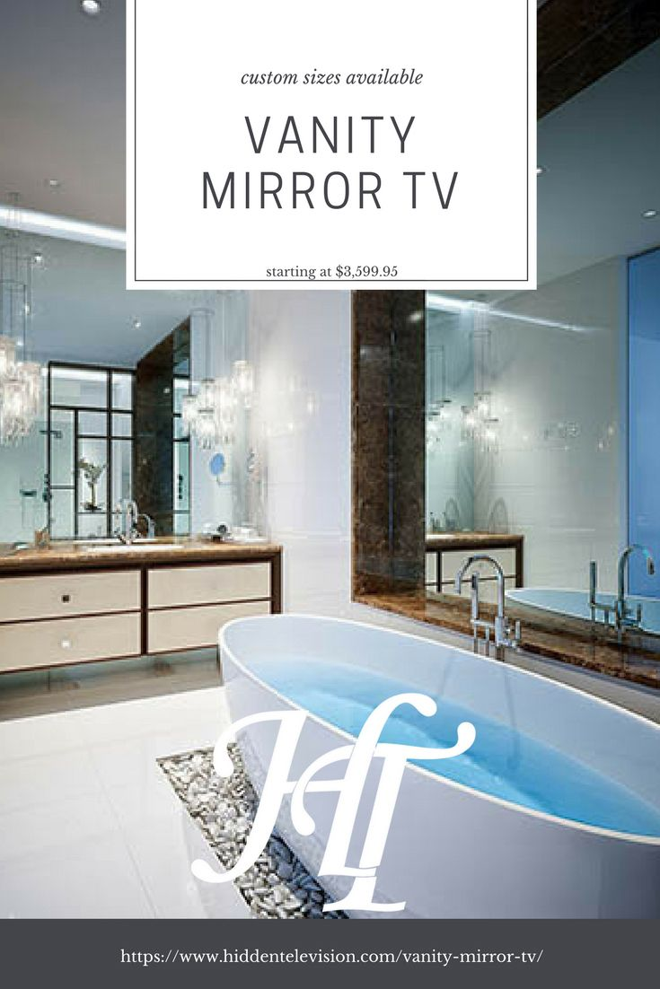 Vanity Mirror TV | Mirror tv, Vanities and Televisions