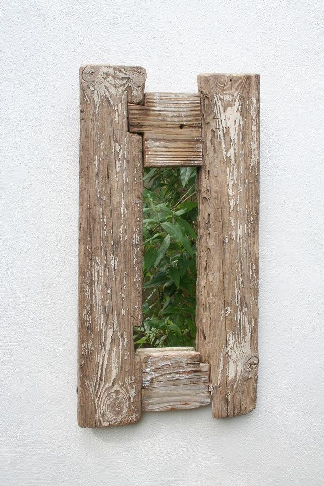 Driftwood Mirror Drift Wood Mirror Distressed Wood Mirror