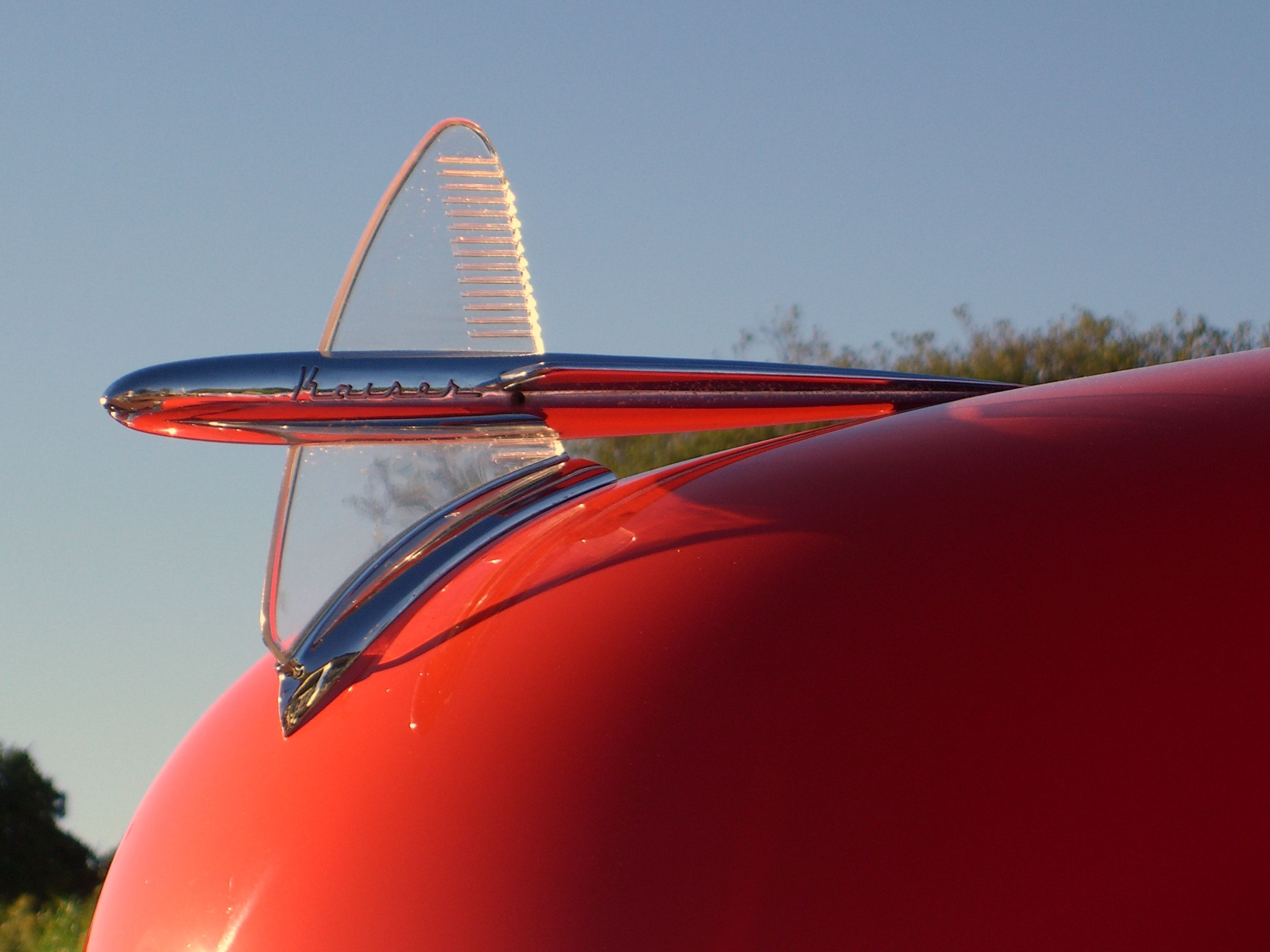 Cool hood ornaments - 1949_kaiser_virginian_hood_ornament Jpg