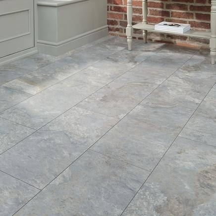 Professional V Groove Grey Slate Laminate Tile House Pinterest