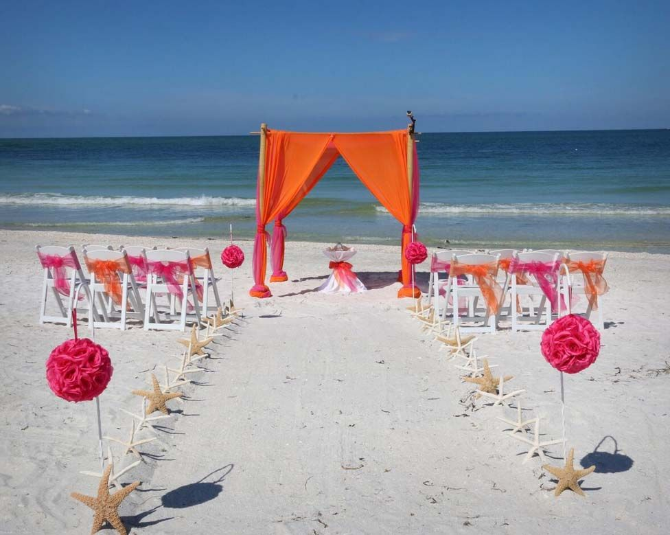 P A Grille Beach Wedding Perfection From Suncoast Weddings