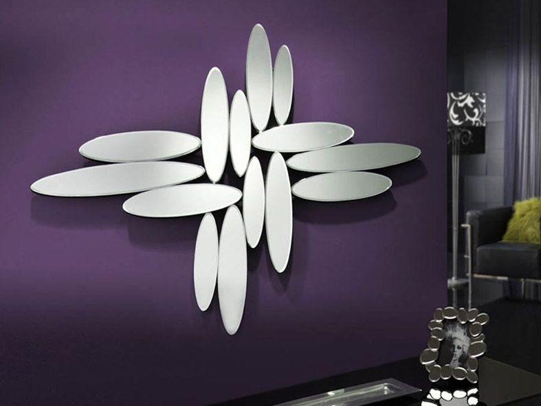 Espejo moderno de cristal modelo domo decoracion beltran for Espejos decorativos modernos bogota