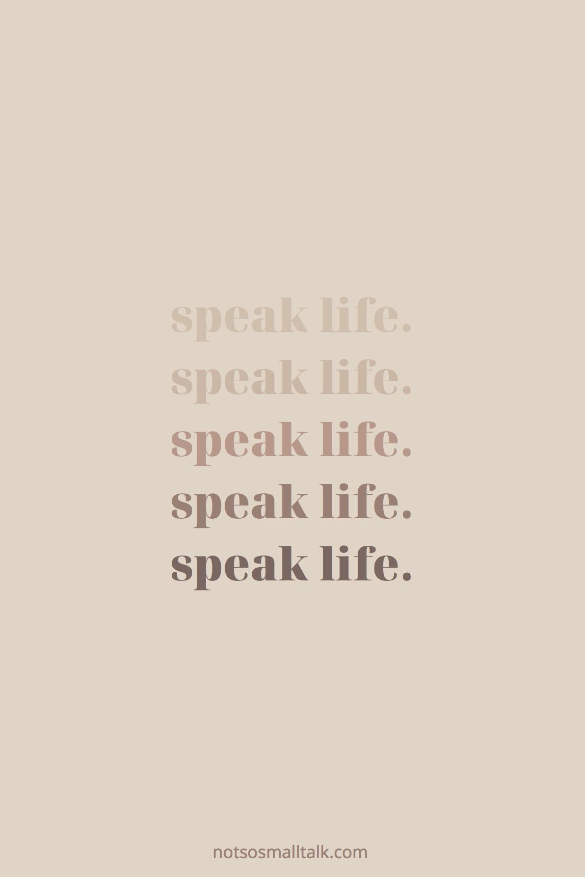 Speak Truth Over Your Life