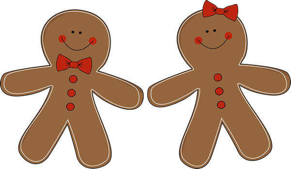 Gingerbread Venn Diagram Dimmable Ballast Wiring Couple - There Are Other Variations Available At Mycutegraphics. :) | Christmas Clip ...