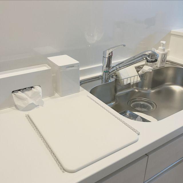 キッチン/ゴミ箱/ダストボックス/ティッシュケース/水切りマット ...