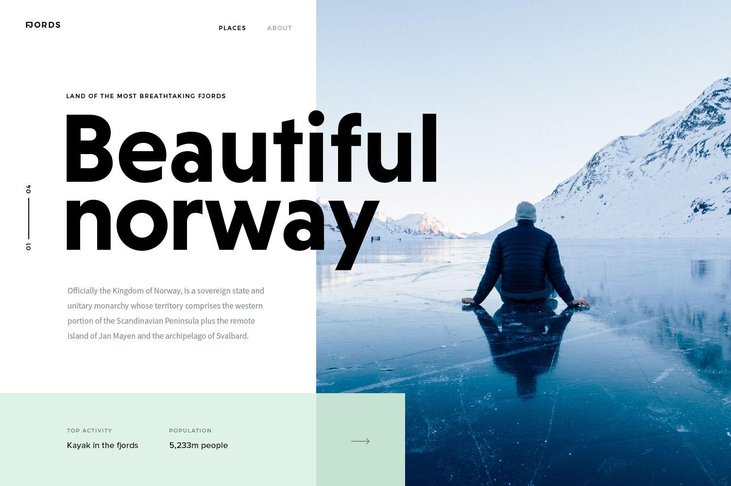 Norway Web Design Trends Web Layout Design Interactive Design
