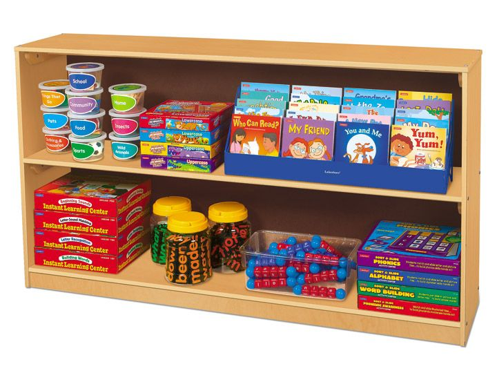 Another Bookshelf Option Classic Birch Store Anything Medium Classroom Shelves