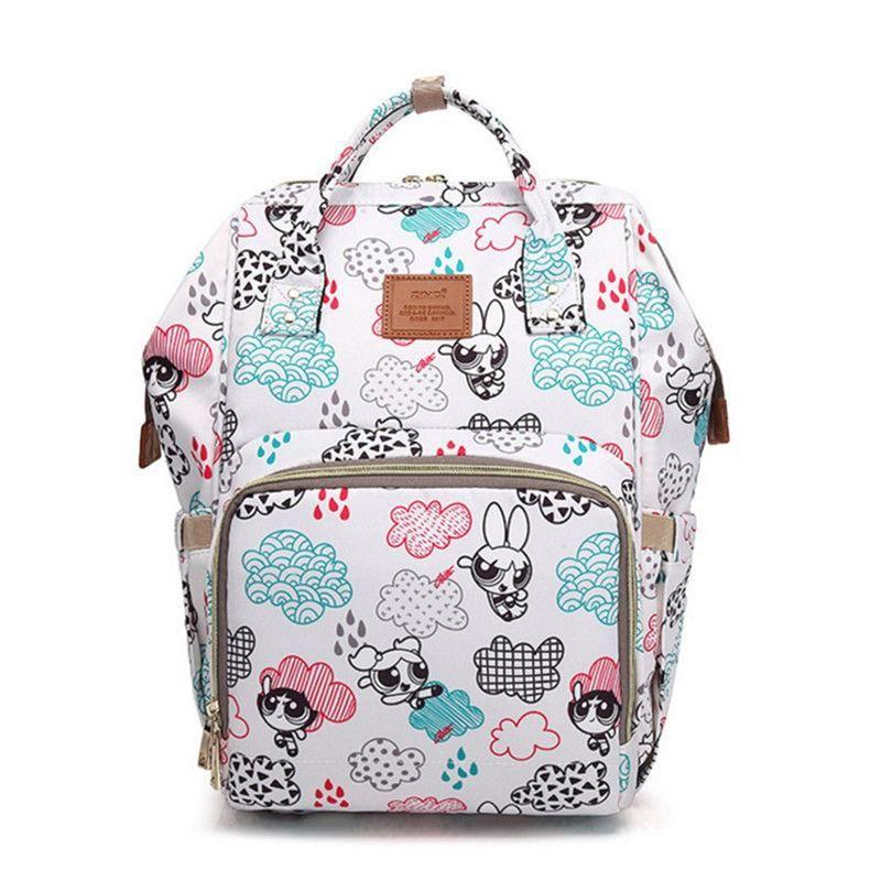 b7c32803ec7e Bucket Zip Backpack Changing Bag - PowerPuff Girls Print   Changing ...