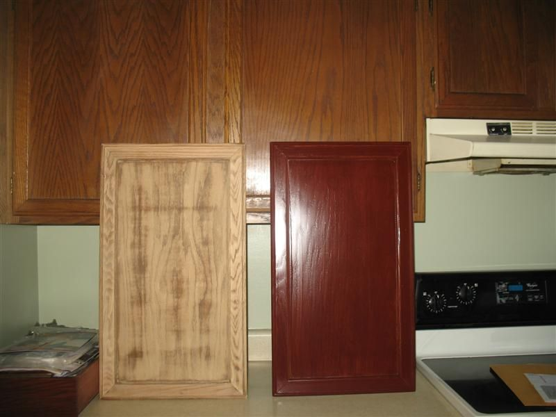 best way to restain kitchen cabinets back to post painted oak kitchen cabinets before and 9247