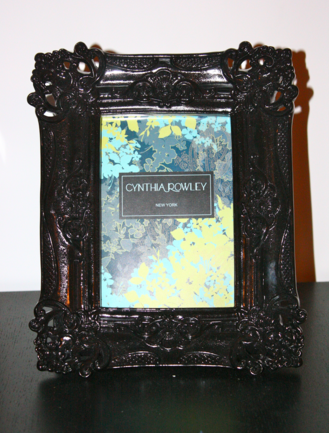 Cynthia rowley picture frames This picture incorporates the colours ...