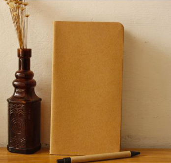 Cowhide Hand Sewn Craft Notebook