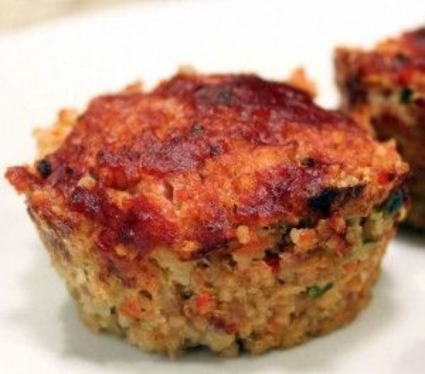 Turkey Mince Meatloaf Cups #paleolunch | Turkey mince ...