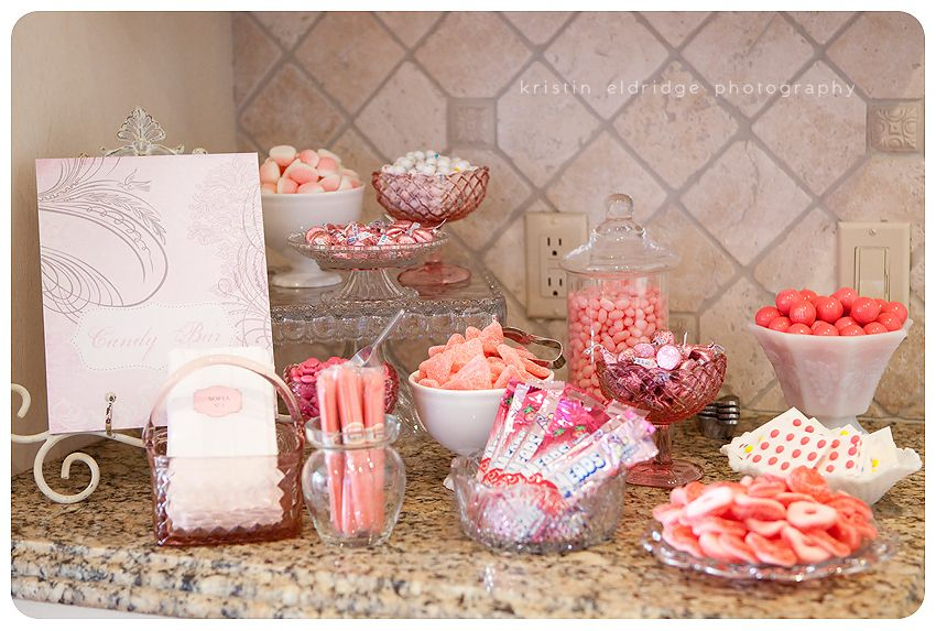 Pink And Brown Zebra Baby Shower