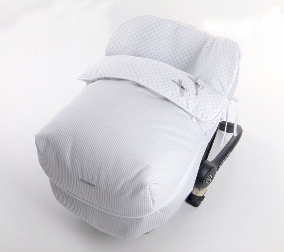 Baby car seat gray foot baby car seat by babypetitemabelle ...