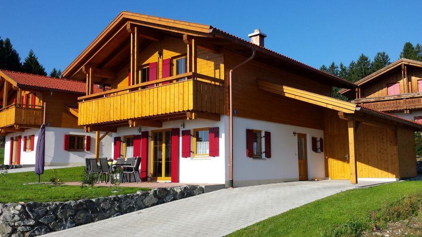Ferienhaus Alpensee mit Sauna im Allgäu Ferienhaus