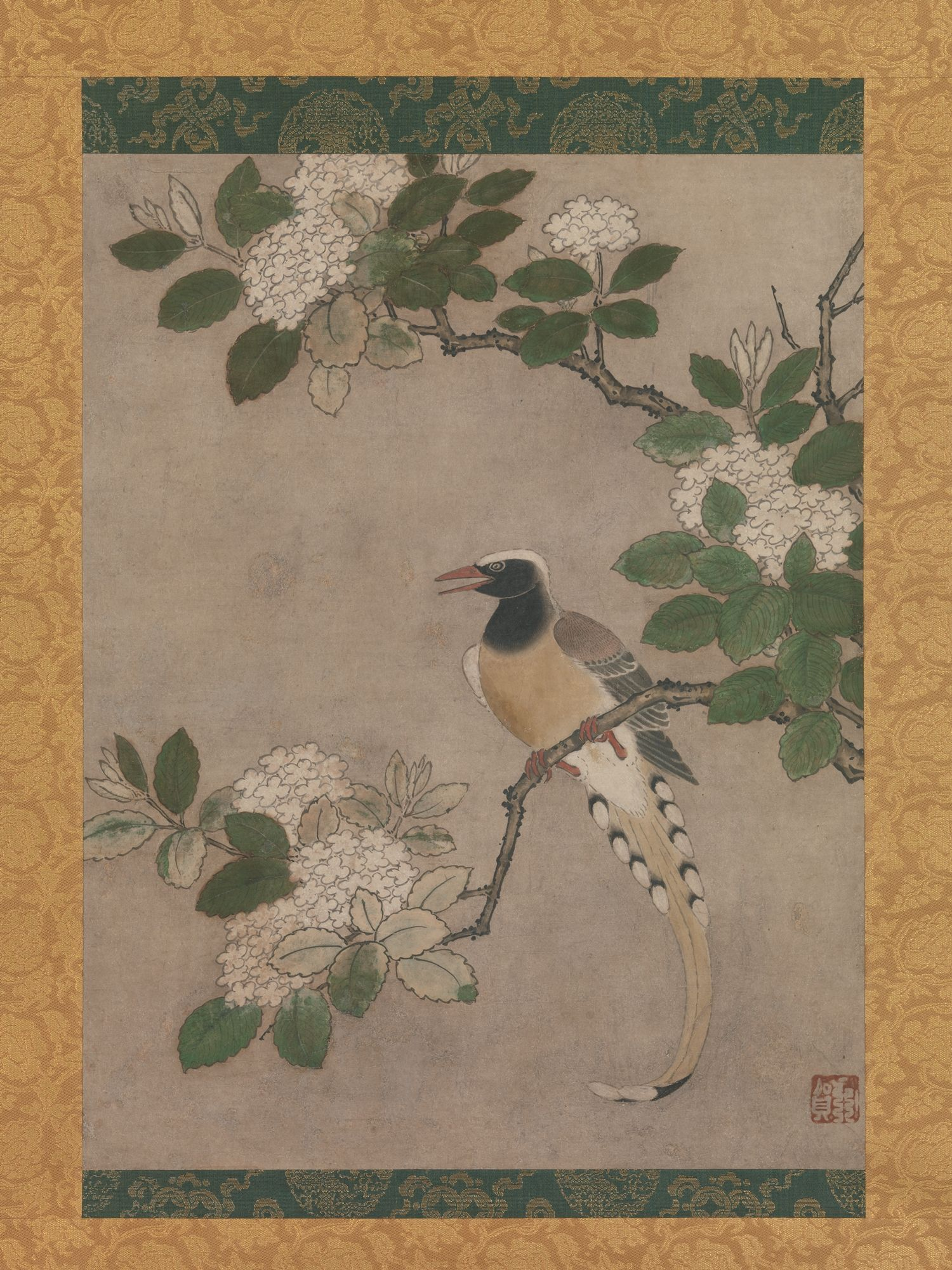 Genga magpie on viburnum branch japan muromachi period 1392 magpie on viburnum branch genga japanese active early century in song tradition find this pin and more on pre 1600s asian art sciox Gallery
