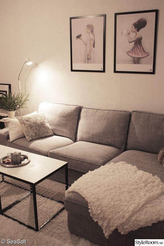 Living Room Design Ikea: Divansoffa,soffbord,ikea Ps,vee Speers,golvlampa