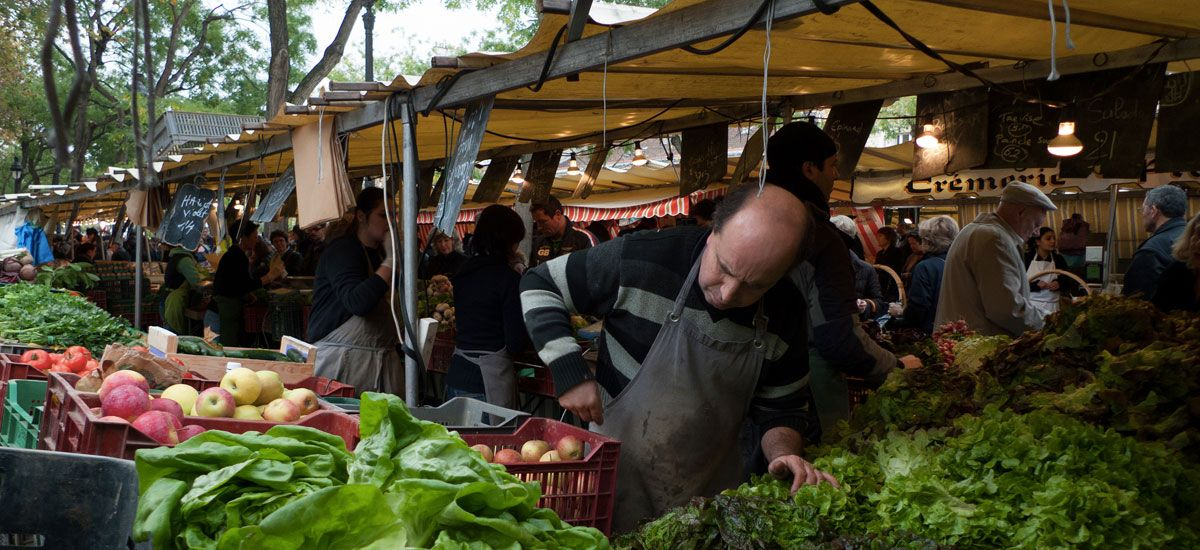 The Best Food Markets and Market Streets in Paris, France