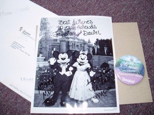 If you send mickey and minnie a wedding invitation you receive an if you send mickey and minnie a wedding invitation you receive an autographed photo and junglespirit Choice Image
