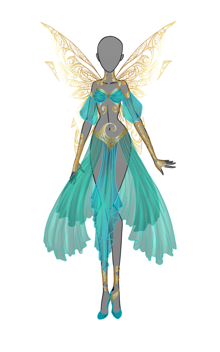 Queen of goldsmith by Moryartix on DeviantArt. LOVE this design so beautiful :)