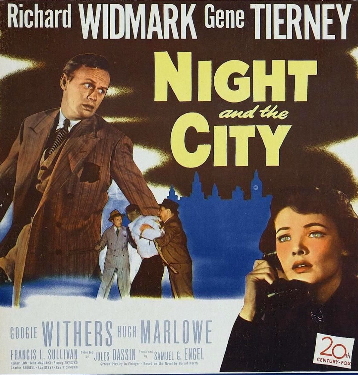 Jules Dassin's Great Noir Film NIGHT AND THE CITY 1950