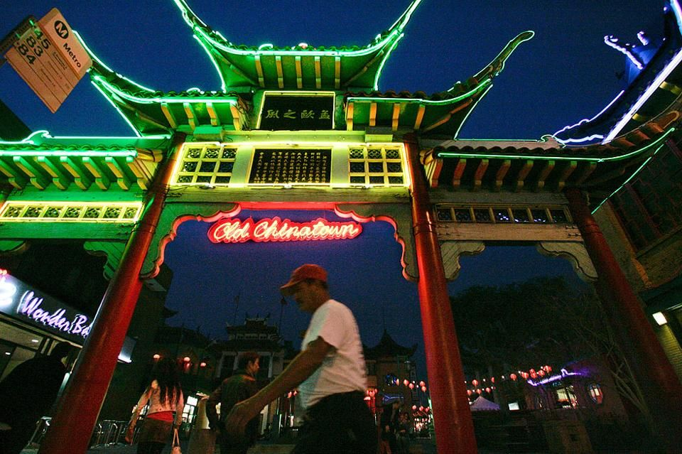 Pin By Patty Fong On Los Angeles Yesterday And Today Los Angeles Chinatown After Dark