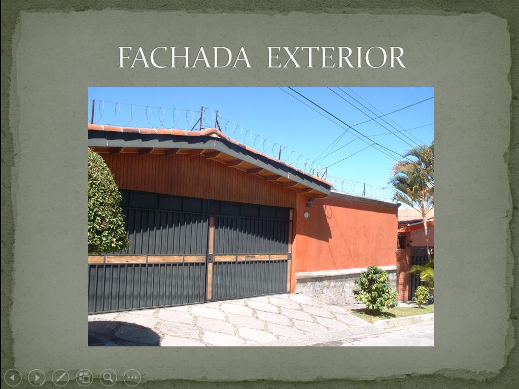 Casa de 1 nivel con 3 habitaciones mas cuarto de huespedes en Antiguo Cuscatlan US$ 385,000 EN VENTA