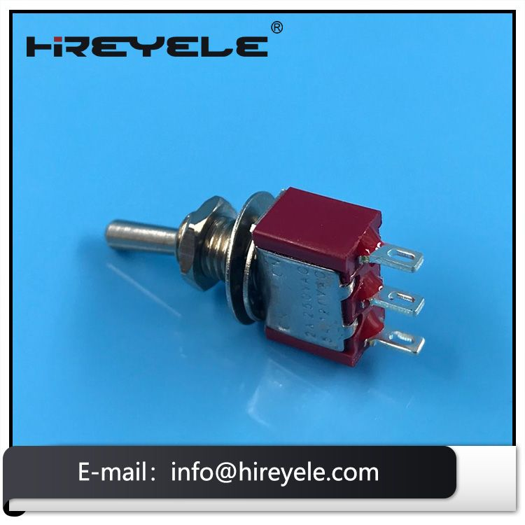 Spdt 3 Pin Mini Toggle Switch With Soldering Terminal Toggle Switch Toggle Switch