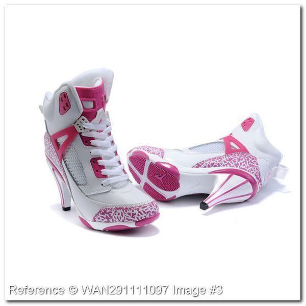 zapatillas jordan de mujer con taco