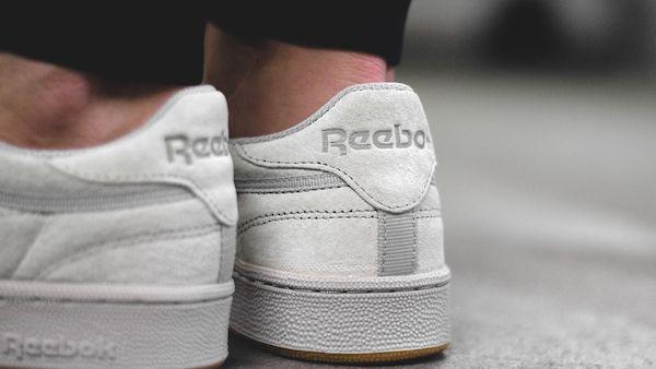 Reebok Club C 85 X Kendrick Lamar Tonal Gum Steel Carbon Gum Sku Bd1886 Reebok Club Reebok Club C Reebok