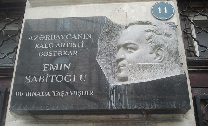Emin Sabitoglu 02 11 1937 18 11 2000 Azerbaidjan