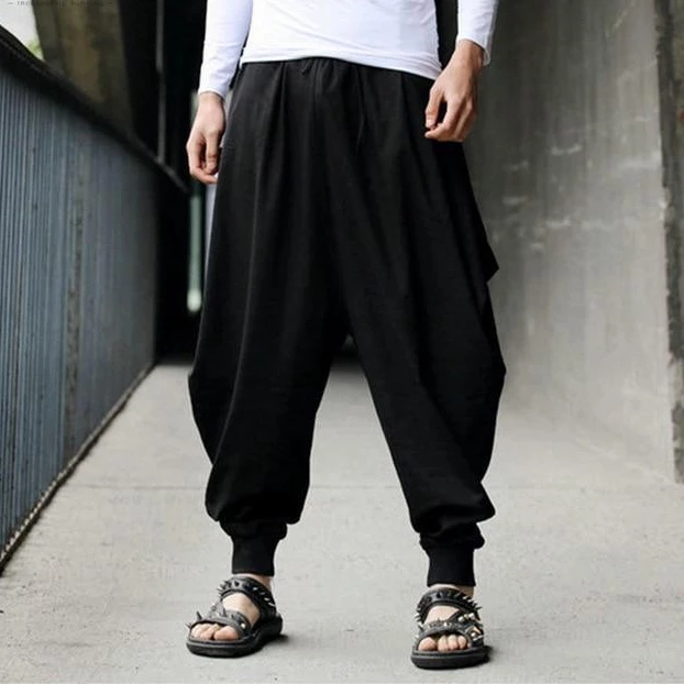 Hot Premium Embroidered Japan Hip Hop Jeans Loose Baggy Mens Trousers