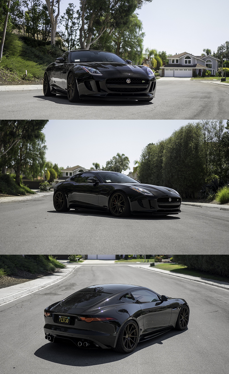 Black Widow Customized Jaguar F Type In 2020 Jaguar F Type Black Jaguar Jaguar