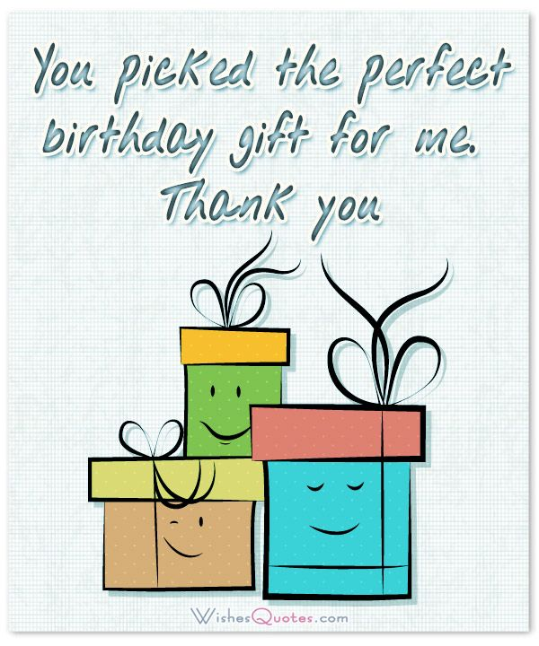 Thank You Quotes For Birthday Notes Cards