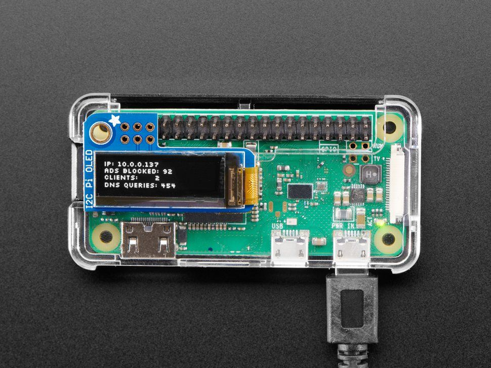 Mini Ad Blocking Pi-Hole Kit with Pi Zero WH - No Soldering