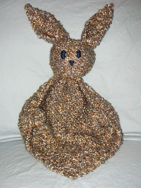 Bunny Buddy Free Knit Pattern Knitting Pinterest Knit
