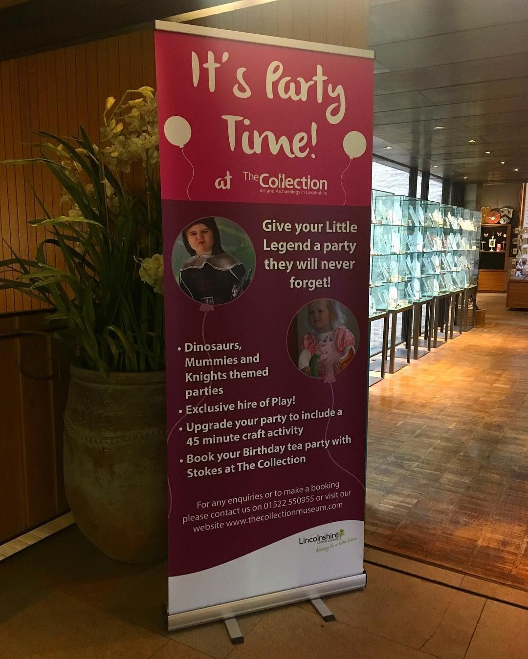 We're now available for birthday parties! The Collection is offering themed birthday parties such as mummies dinosaurs & knights making it a party not to be missed! Visit our website to get more info on how to book your child's birthday party  #lincoln #lincolnshire #party #childrensparty #collectionusher