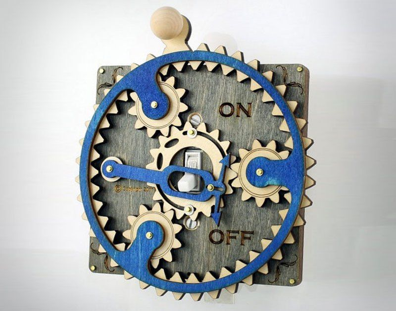These Overly Complicated Light Switch Covers are Awesome