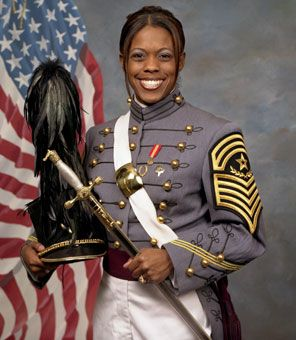 Emily Perez, the highest-ranking black and Hispanic female cadet in corps' history. Perez, 23, was buried at West Point military academy Sept. 26, 2006 two weeks after she was killed by a bomb in Iraq.